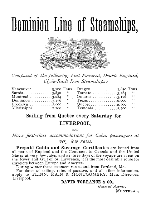 PNG 1882 Dominion Line ad