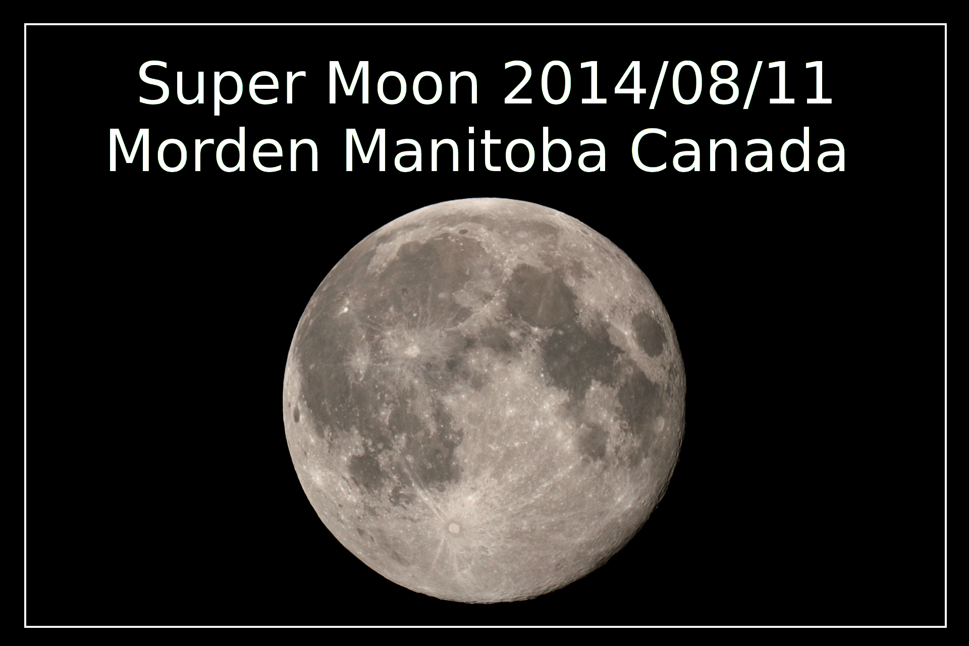 PNG 2014 super moon