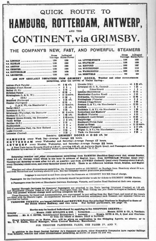 JPG Great Railway Company ad