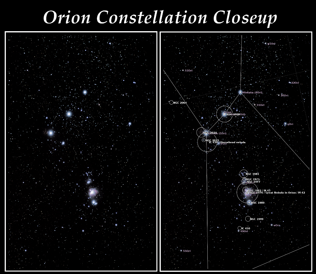 PNG Orion closeup